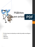 Hábitos ortodoncia