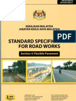 JKR Specification of Road Works (Flexibe Pavement)