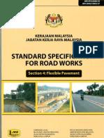 JKR Specification of Road Works (Flexibe Pavement)