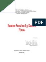 Trabajo de Examen Fisico y Funcional Completo