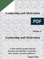 Leadearship and Motivation