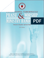 FGT Worship Ministry Handbook