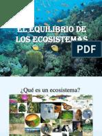 Equilibrio de Los Ecosistemas