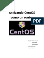 CentOS Como Router