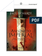 Paul Doherty - Asesinato Imperial