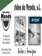 Aridos Do Mendo 25x10