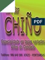 Cafebar Chiño 12 x 6
