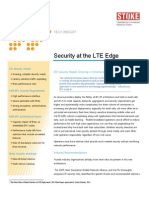 !Security at the LTE Edge