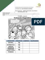 4to Grado - Diagnóstico (11-12)