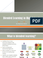 Blended Learning in High Schools