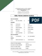 10 FECHA CAMPEONATO 2013
