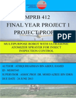 Proposal FYP1 example  for Malaysian University