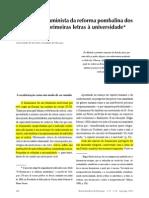 Reforma Pombalina - Carlota Boto