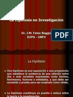 10 La Hipótesis en Investigación