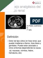 Manejo médico del cólico renal