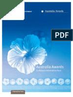 Australia Award Caribbean Info Pack (English) Web Version