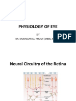 5th Lecture on the Physiology of Eye by Dr. Roomi
