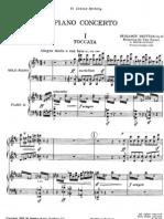 Britten - Piano Concerto Op. 13(Two Piano Score)