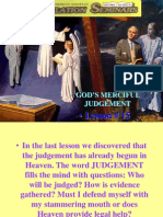 Lesson 15 Revelation Seminars -God's Merciful Judgment