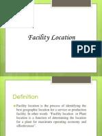 Session-SDC 4 Facility Location