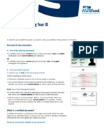 A Guide to Certifying ID