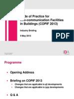 COPIF - Industry Briefing