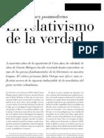 García Márquez posmoderno - El relativismo de la verdad (Julio Ortega)