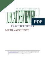 Upcat Entrance Exam Reviewer Pdf