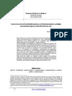 37 Felipe Melundez El Rol de Los Partidos Poluticos Bajo La Constituciun de 1925 PDF