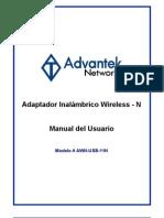 Adaptador Inalámbrico Wireless - N