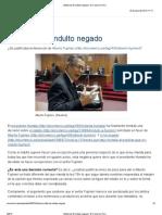 (Editorial) El indulto negado _ El Comercio Perú