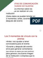 Difusion Con La Prensa 2010