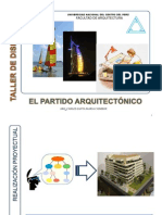 TALLER DE DISEÑO VI - EL PARTIDO ARQUITECTONICO