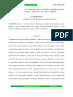 Jkuat Project , Coefficients - Regression