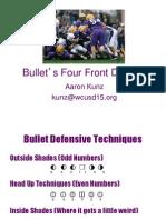 Aaron Kunz Bullets 44 Defense