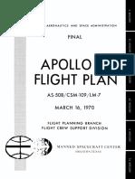 Apollo 13 Flight Plan Final - Mar 16 1970
