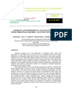 Modeling and Experimental Analysis of Variable Speed Three Phase Squirrel-2