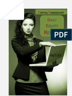 Daily-Equity-Report by Capital Paramount 4 Jul 2013