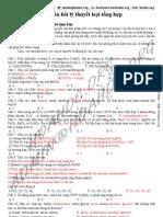 161 câu hỏi bài tập trắc nghiệm lý thuyết ôn luyện