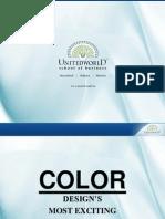 Color Presentation - Unitedworld School of Business