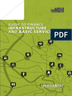Guide to Finance Infrastructure and Basic Services
