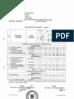 Plan de Invatamant - Afpd - 1 - V2