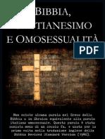 Bibbia, Cristianesimo, e Omosessualità