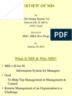 Overview of MIS_Jan2012