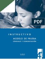 ModelodePrueba-Lenguajeycomunicaicón corrección
