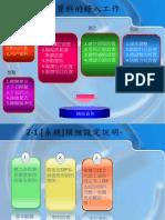 網際特助資料導入步驟(輔助資料)