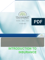 Insurance Basics Presentation - Unitedworld School of Business