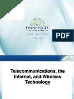 Internet Comm. All Protocol Presentation - Unitedworld School of Business