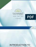 Intrduction to Macroeconomics Presentation - Unitedworld School of Business