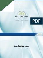 New Technology Presentation - Unitedworld School of Business